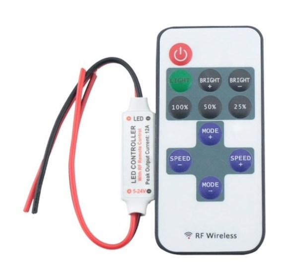 ir remote led lamp afstandsbediening