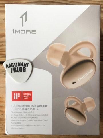 1more tws bluetooth en ear verpakking
