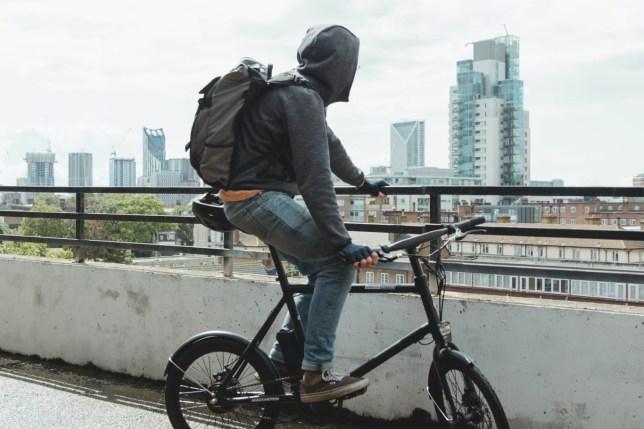 AMX Mini ebike lichte elektrische fiets