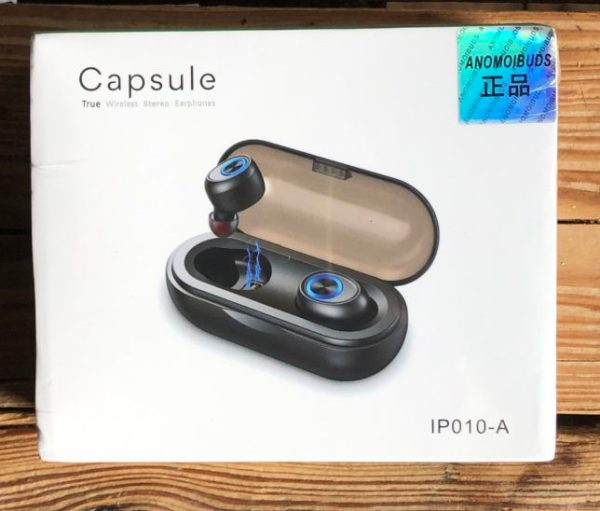 anomoibuds review verpakking earbuds