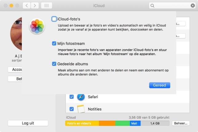 meer icloud opslag kopen? Zet iCloud Foto's UIT en zet Fotostream AAN