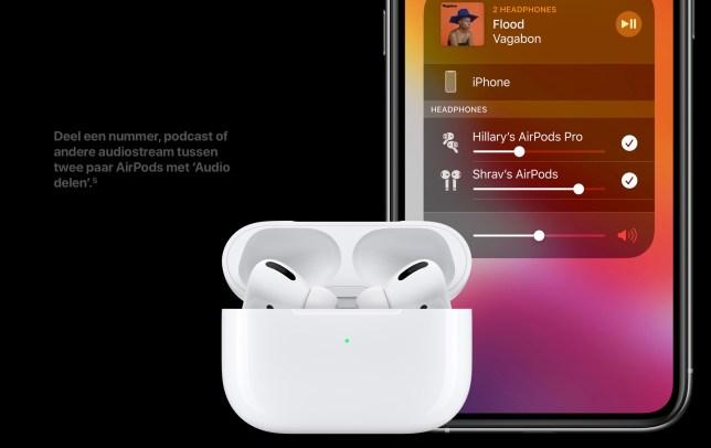 apple airpods pro review luisteren met z'n tweeen
