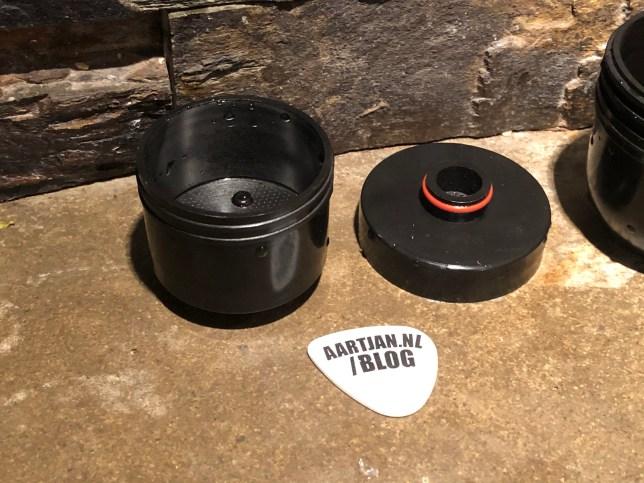 espresso machine stroomloos