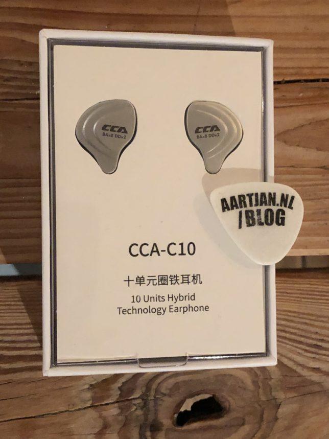 CCA c10 review verpakking