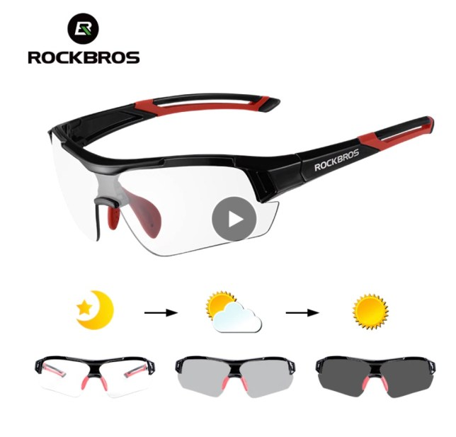 photochromisch meekleurende zonnebril fiets sport
