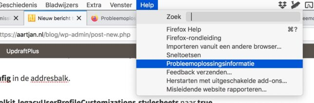 Firefox full screen zonder adresbalk