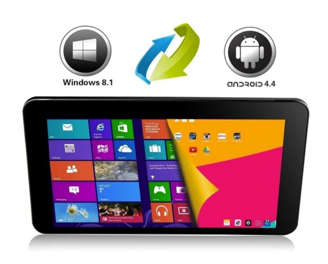 Dual system Android Windows multiboot tablet touch