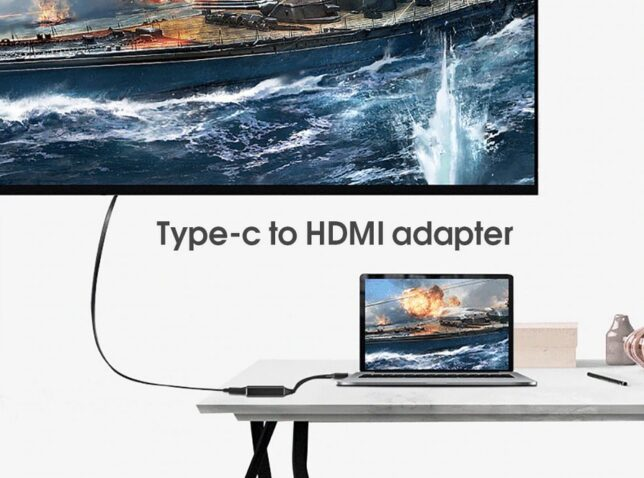 USB-C naar HDMI adapter