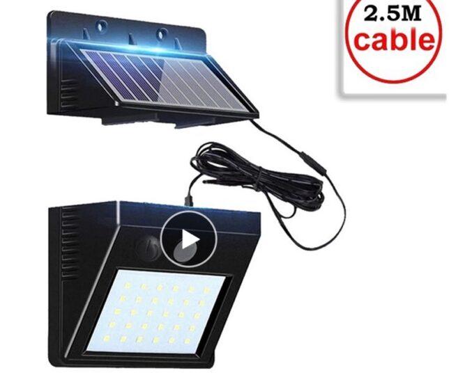 30 ked pir sensor solar