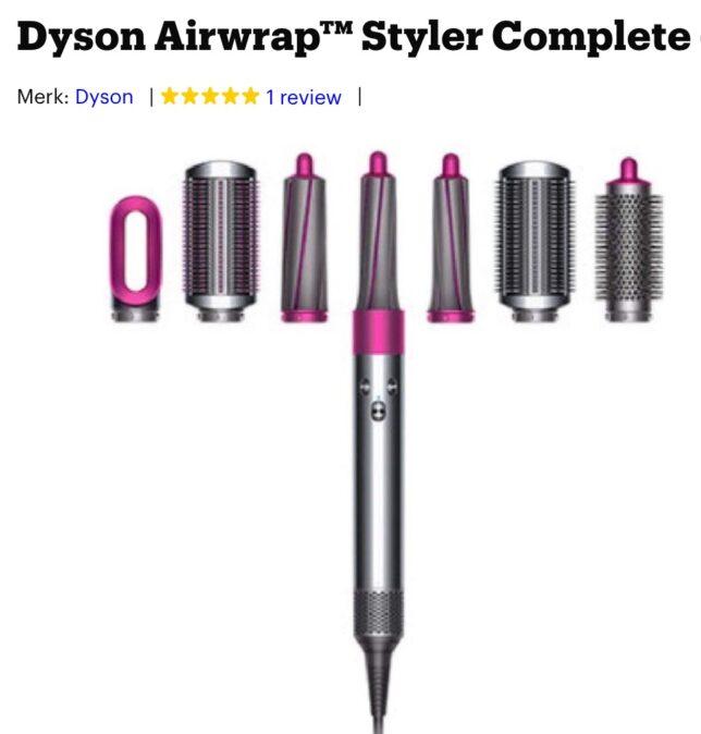 Dyson Airwrap Styler complete set