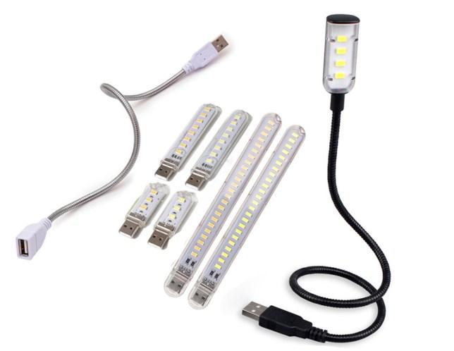 leeslamp USB buigzame stang