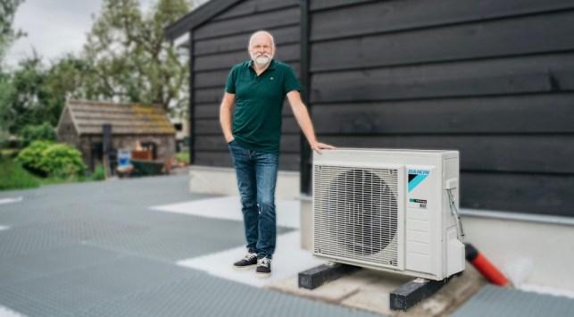 warmtepomp electrische verwarming