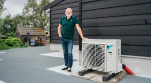 luchtwater warmtepomp electrische verwarming