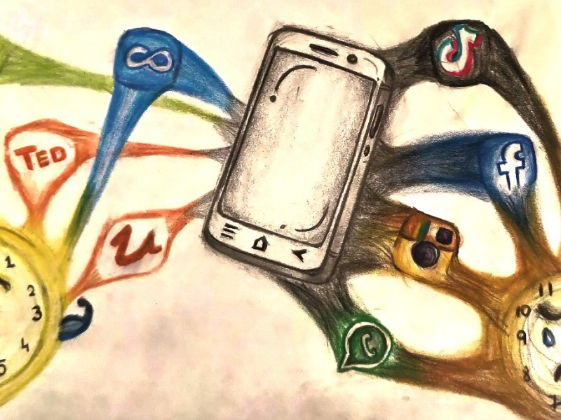 Phone: Villain or Hero Art Concept sketch