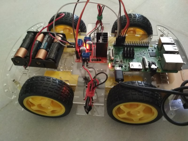 Raspberry Pi: Time-Controlled Robocar