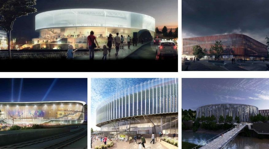Bristol Arena Shortlisted Designs