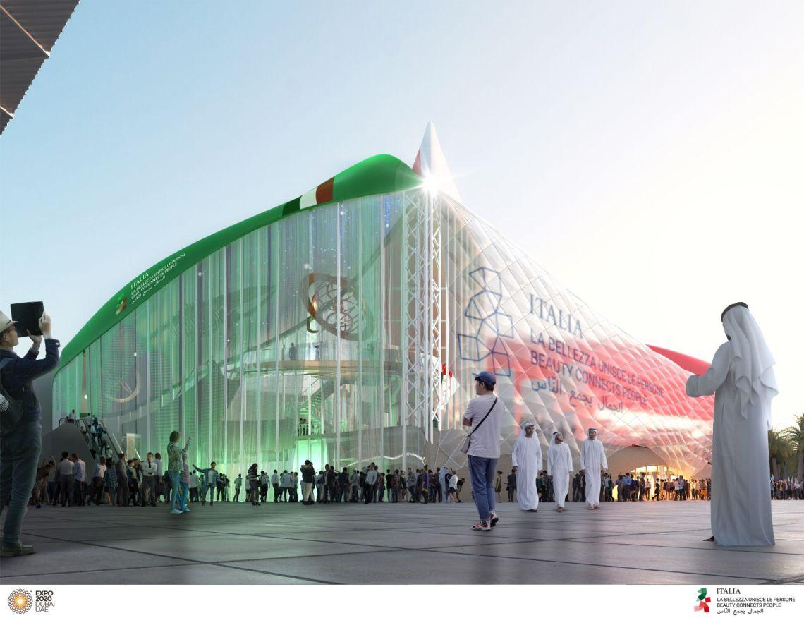 Italian Pavilion at Expo Dubai 2020