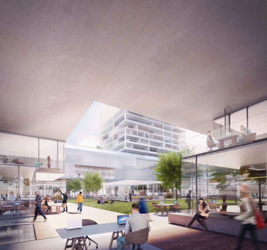 master plan to former site of Milan World Expo 2015
