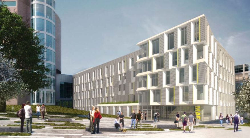 Cornell university s upson hall by perkins will - Cornell university interior design ...