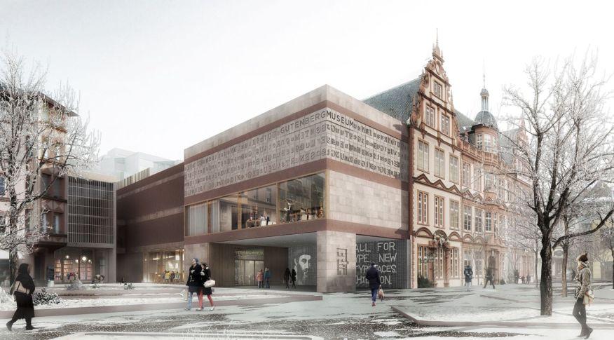 Extension Gutenberg Museum Mainz