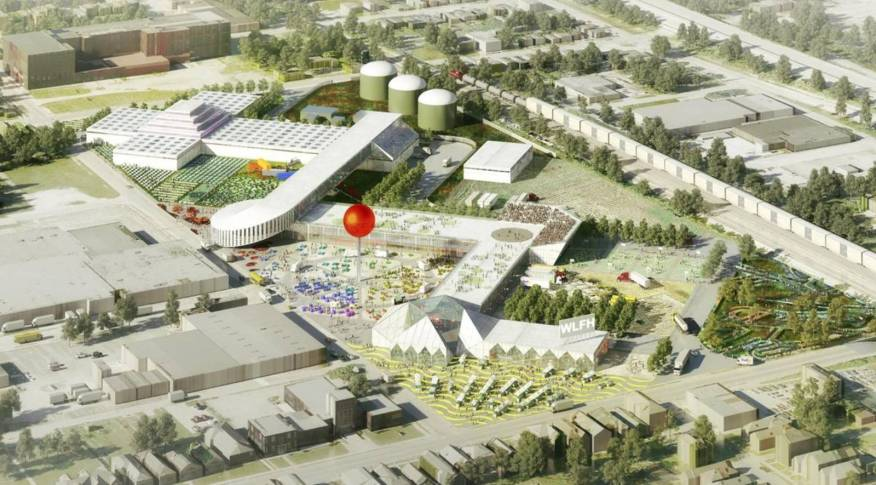 Food Hub Master Plan By Oma