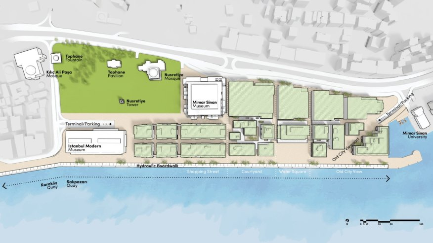 Galataport masterplan