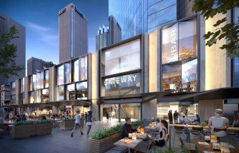 new frontage for Circular Quay