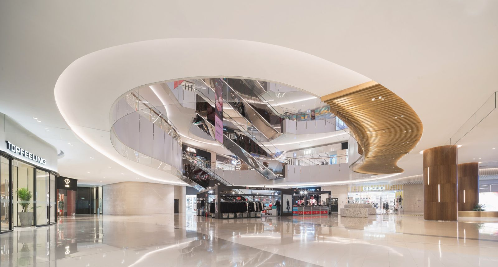 Inside Benoy's 'City park' retail development in Tianjin