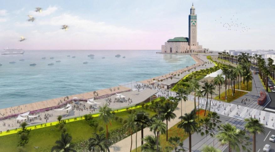 Promenade of Casablanca