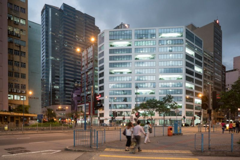 Hong Kong factory into Glass Office