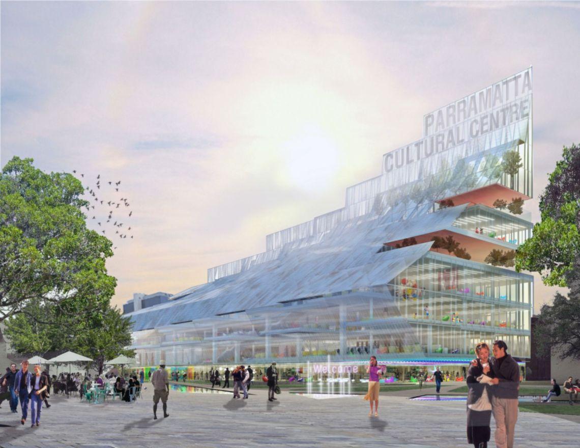 Parramatta Square's Landmark