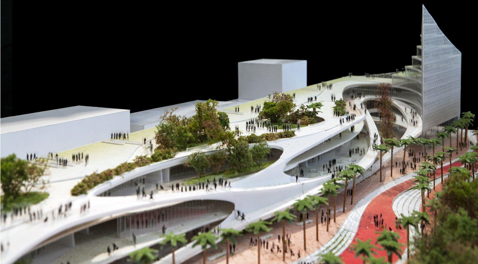 Masterplan for the rehabilitation of the San Berillo by Mario Cucinella Architects