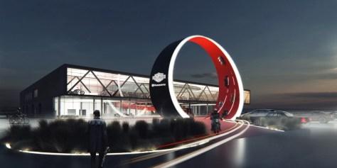 Moto-Center Complex in Crimea