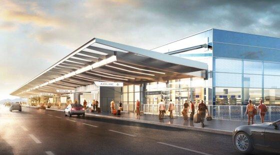 New Terminal Salt Lake City Airport