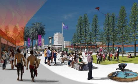 New beach hub