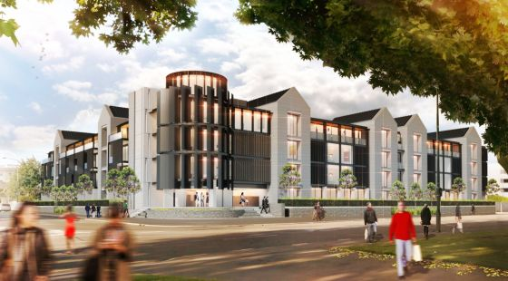 New apartments in Christchurch