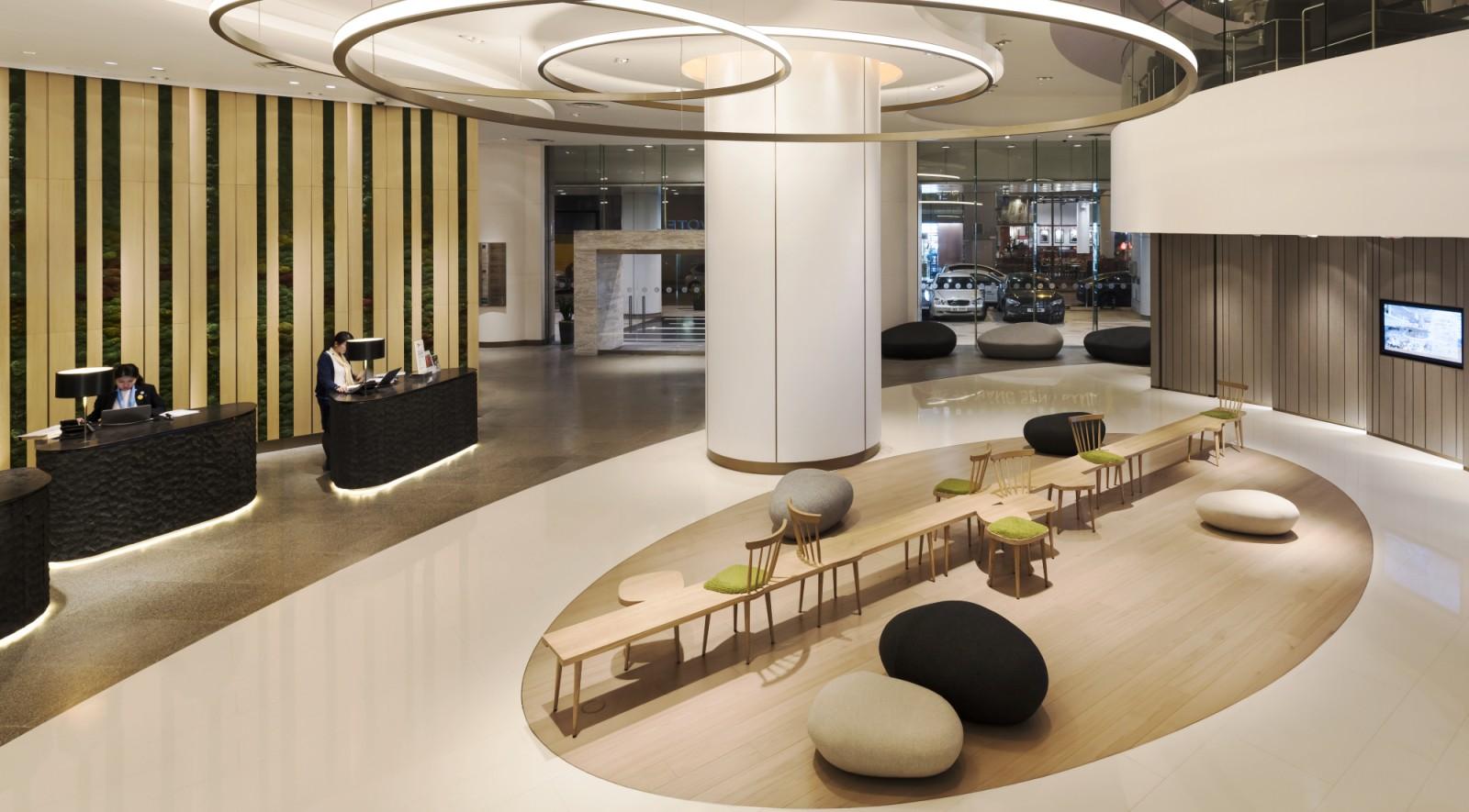 Novotel Century Hong Kong Lobby Area By Aedas Interiors