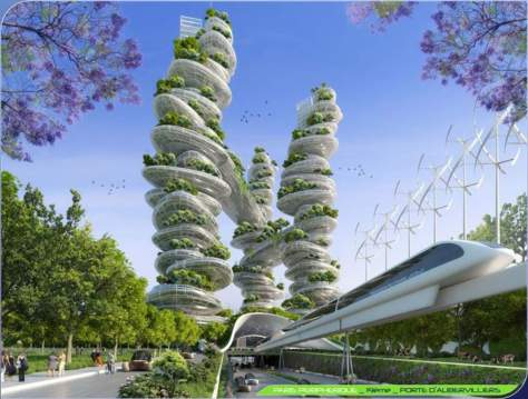 Paris Smart City 2050