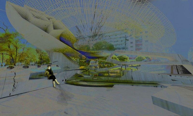 Piezoelectric Trolleybus Gardens