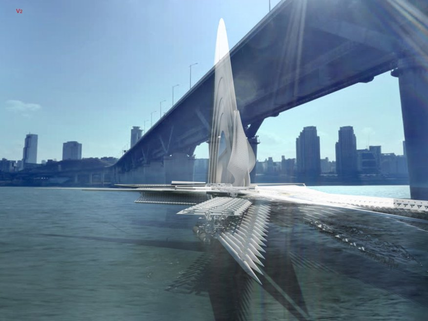 Solar Sail bridge