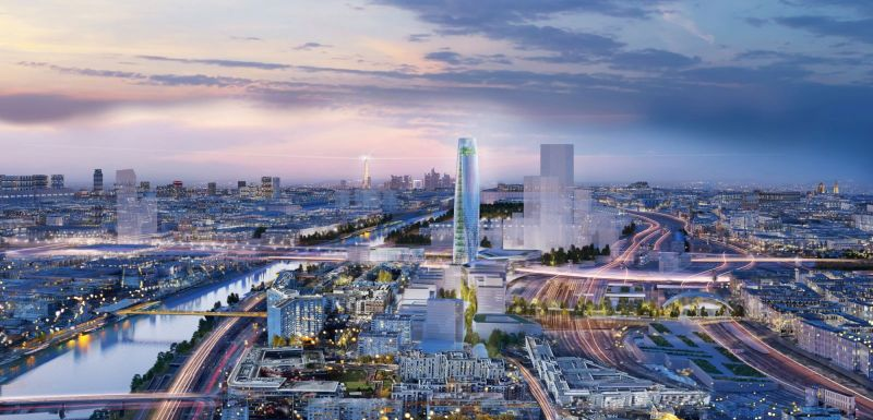 Charenton-Bercy District Masterplan