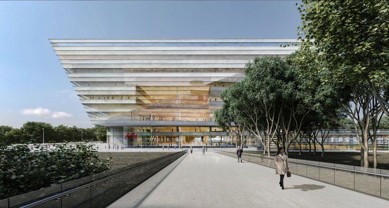 new Shanghai Library