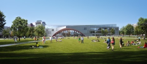 New Library for Temple University