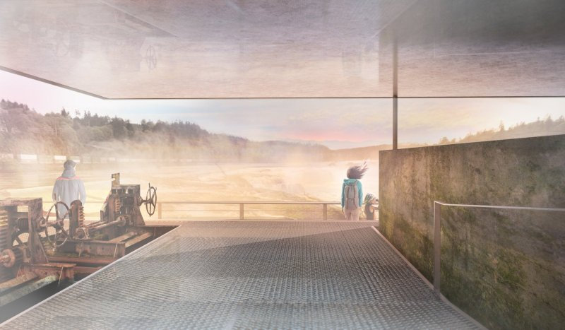 Reimagines Willamette Falls