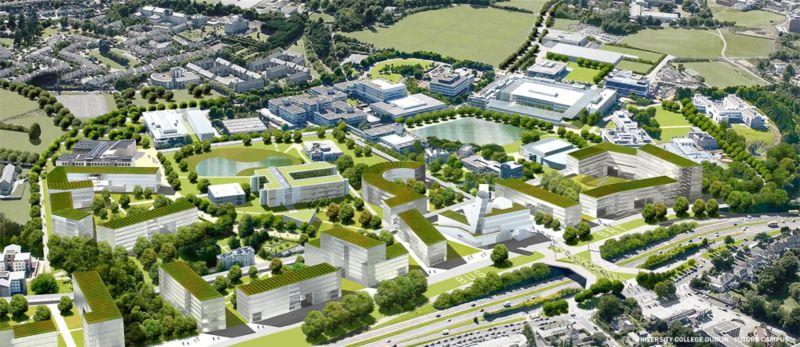 University College Dublin's campus