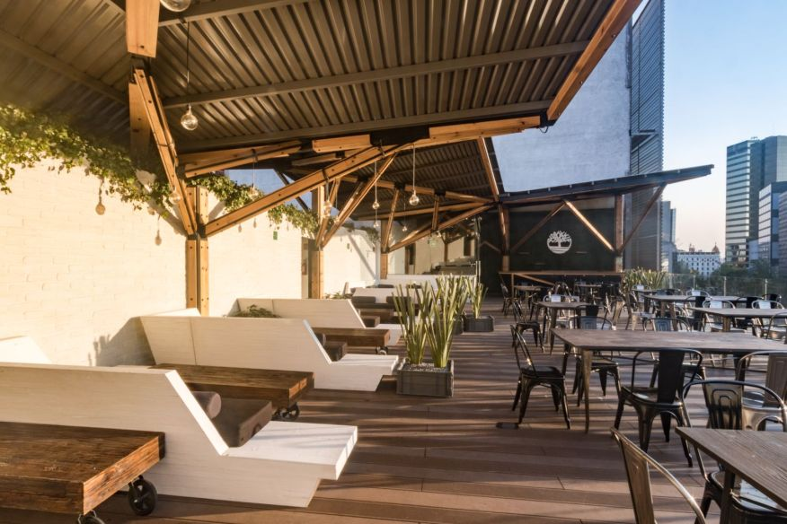 Terraza Timberland By A 001 Architecture Workshop
