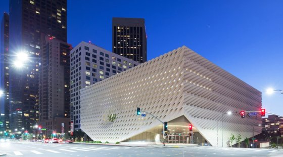 The Broad Museum in Los Angeles