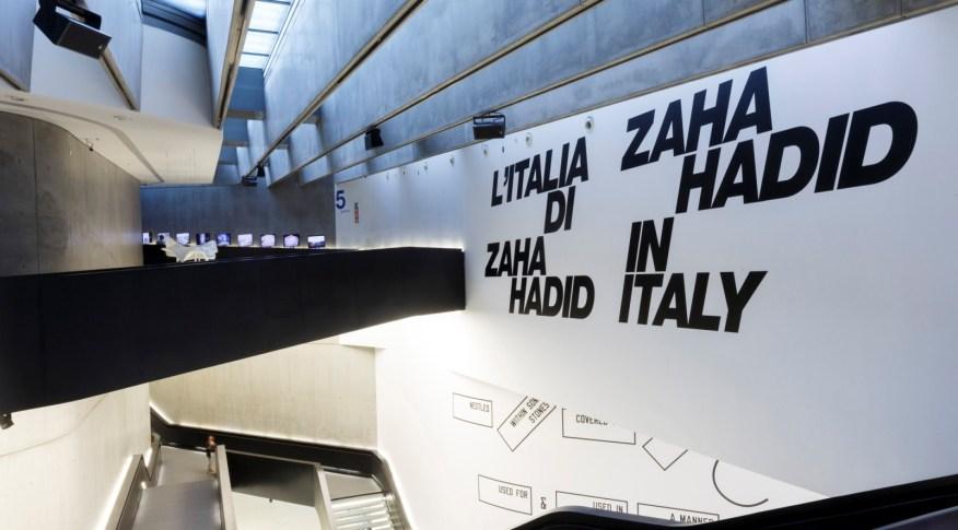Zaha Hadid at MAXXI