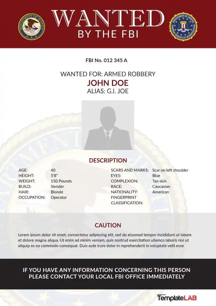 fbi wanted poster generator - free download