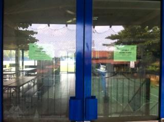 canteen doors